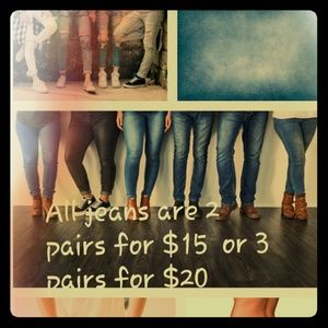 Denim - All Jeans *except NWT*